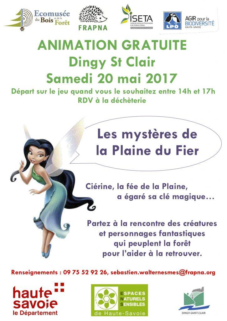 ENS Plaine du Fier 2017 -Affiches