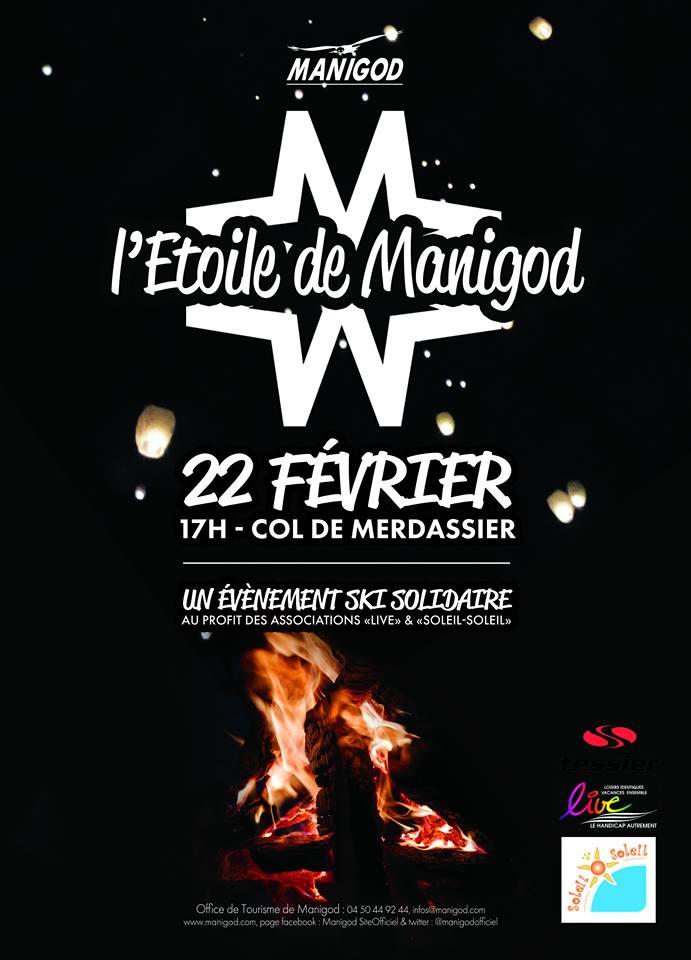affiche etoile manigod 2017